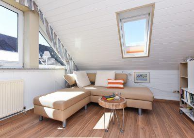 Wohnzimmer | Ferienwohnung Langeoog