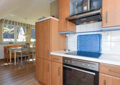 Küchenansicht | Ferienwohnung Langeoog