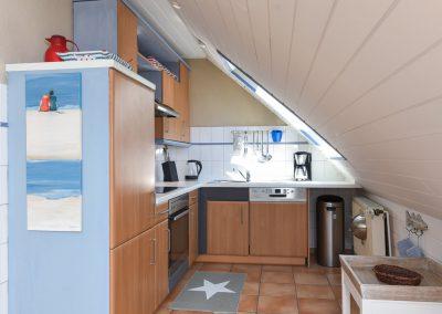 Wohnküche | Ferienwohnung Langeoog