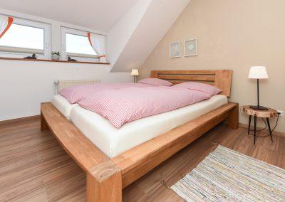 Bett | Ferienwohnung Langeoog
