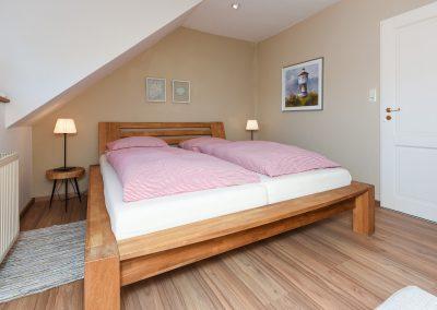 Schlafzimmer | Ferienwohnung Langeoog